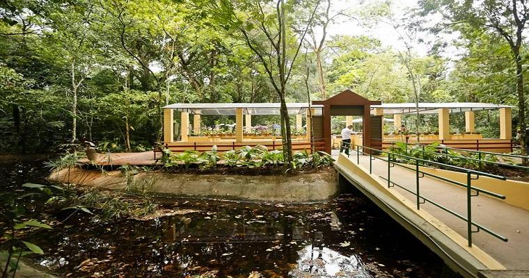 Jardim Botânico e Poço da Panela são pontos de passeio deste fim semana
