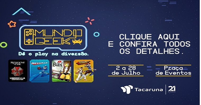 Mundo Geek no Shopping Tacaruna