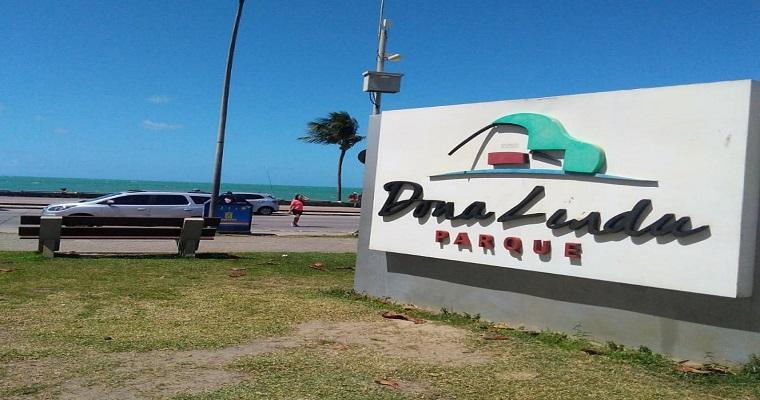 Opção de lazer gratuita em Boa viagem: Parque Dona Lindu