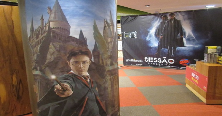 Harry Potter: Fãs promoveram encontro no Shopping Riomar