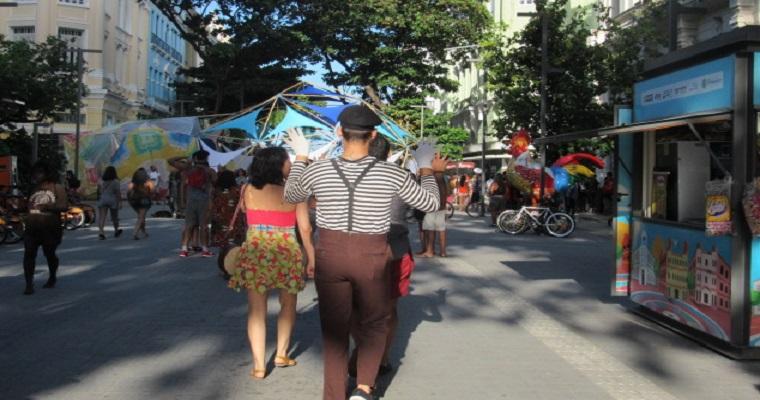 Festival R.U.A : Neste domingo Recife virou um palco a céu aberto