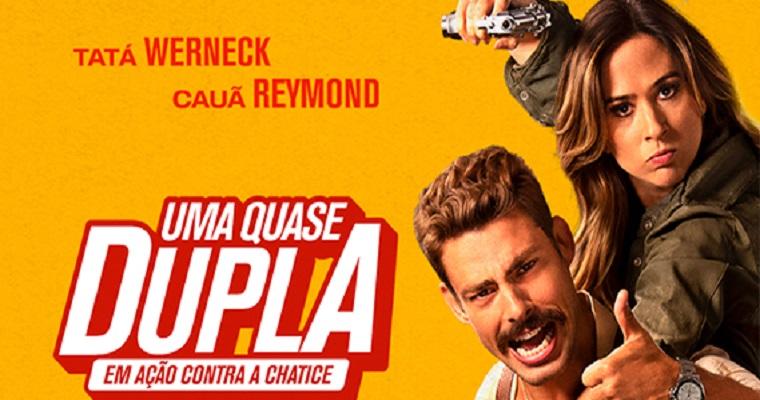 Em cartaz: Comédia Uma Quase Dupla estreia a nos cinemas