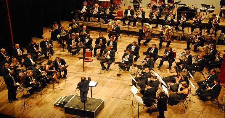Banda Sinfônica do Recife faz concerto gratuito nesta quarta-feira
