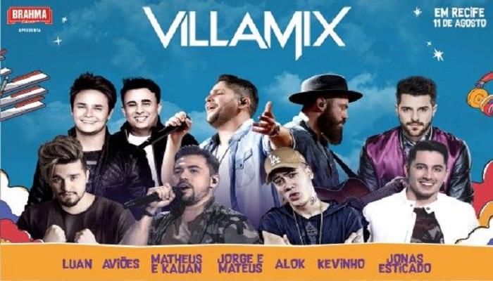 Festival Villa Mix Recife 2018 acontece neste fim de semana