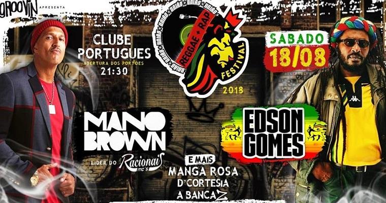Festival União Reggae + Rap acontece em Recife