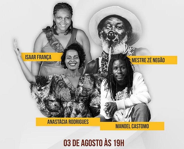 Próxima sexta: Roda de conversa sobre  Música Afro Brasileira