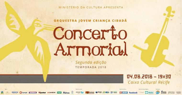 Concerto Armorial: Orquestra Criança Cidadã dos Meninos do Coque