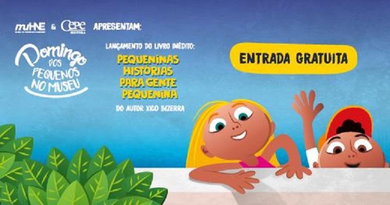 Domingo dos Pequenos no Museu terá lançamento de livro