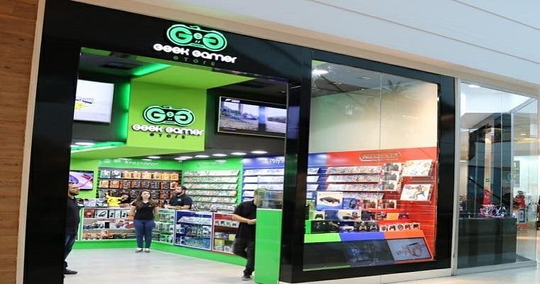 Novidade para os fãs de Games: O RioMar inaugurou uma Loja Geek
