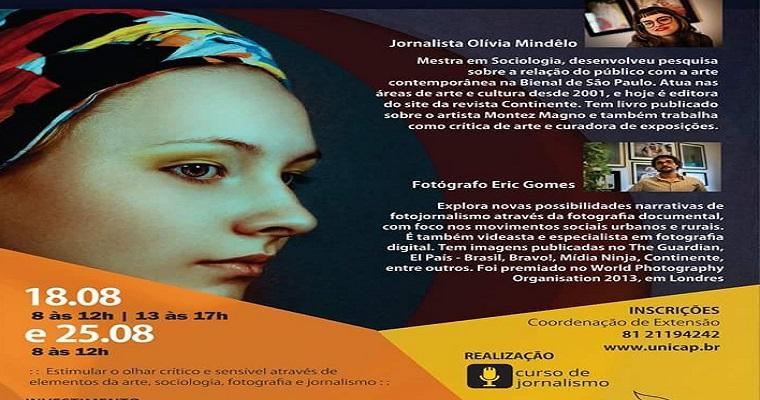 Curso de extensão realizado pela Unicap debate arte e fotografia