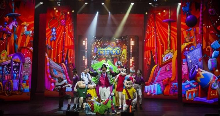 Circo da Turma da Mônica chega ao Recife