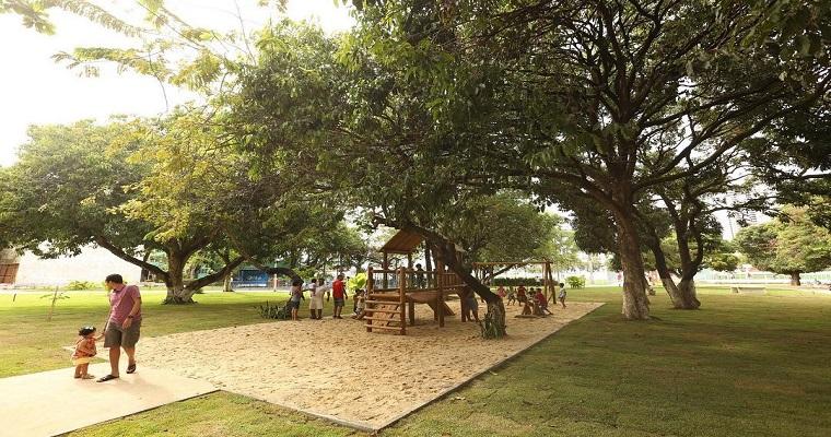 Parque Santos Dumont recebe mais uma edição do Recife Mais Lazer