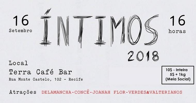 Festival Íntimos realiza sua primeira edição no Recife