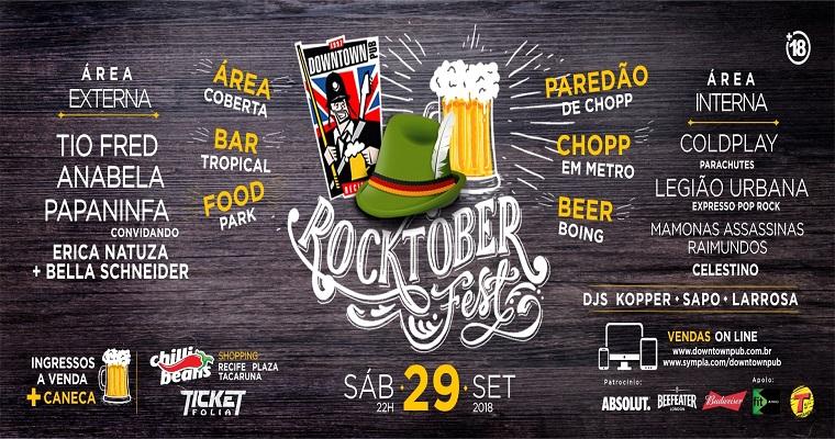 Rocktober Fest será realizado neste sábado