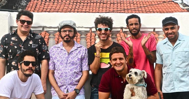 Banda Academia da Berlinda faz show no Clube Bela Vista