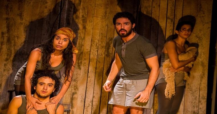 Espetáculo teatral Curral Grande entra em cartaz na CAIXA Cultural