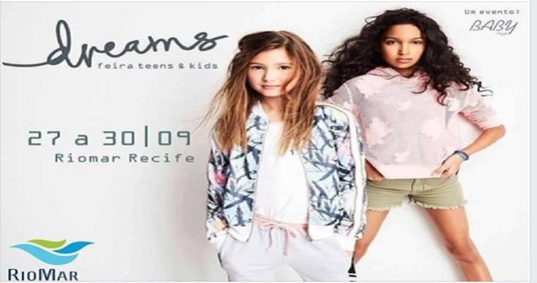 Feira Dreams Teens e Kids teve início nesta quinta no RioMar