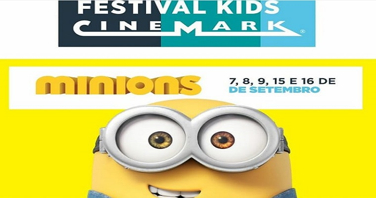 Festival Kids Cinemark é realizado no Shopping RioMar