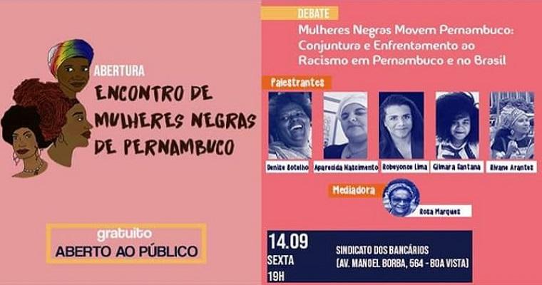Encontro de Mulheres Negras de Pernambuco acontece na boa vista
