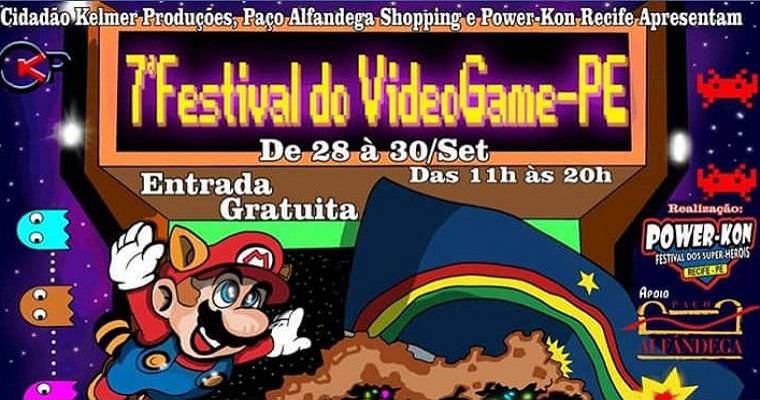 Paço Alfândega  recebe o Festival do Videogame de Pernambuco