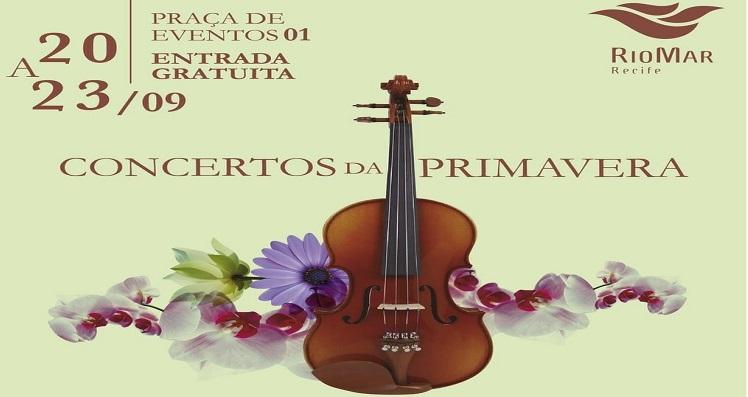 Shopping RioMar promove o projeto Concertos da Primavera