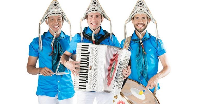 Banda Fulô de Mandacaru faz show no RioMar