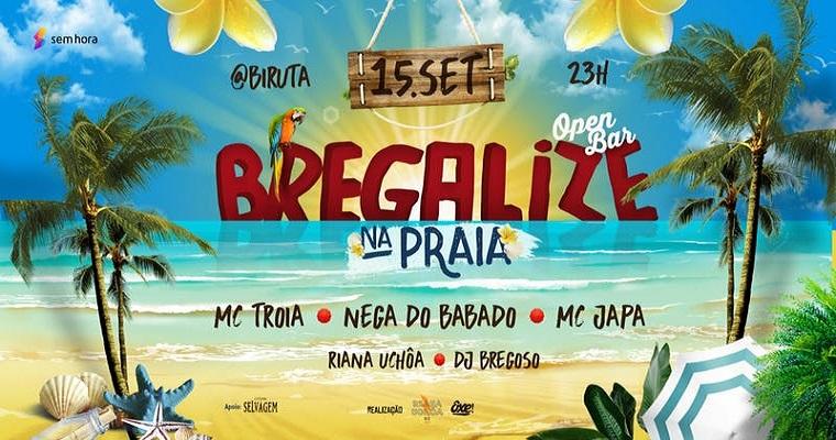 Próximo sábado: Bregalize na praia