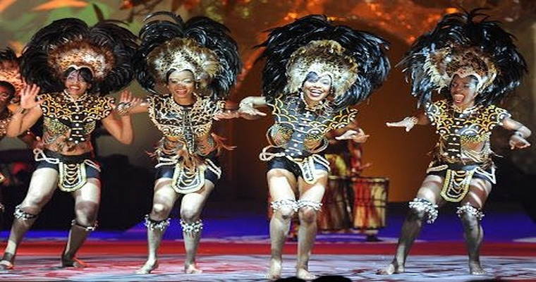 Le Cirque apresenta novo espetáculo 'Africa Circus' no Recife