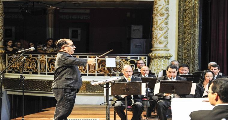 Concerto gratuito celebra 60 anos da Banda Sinfônica do Recife