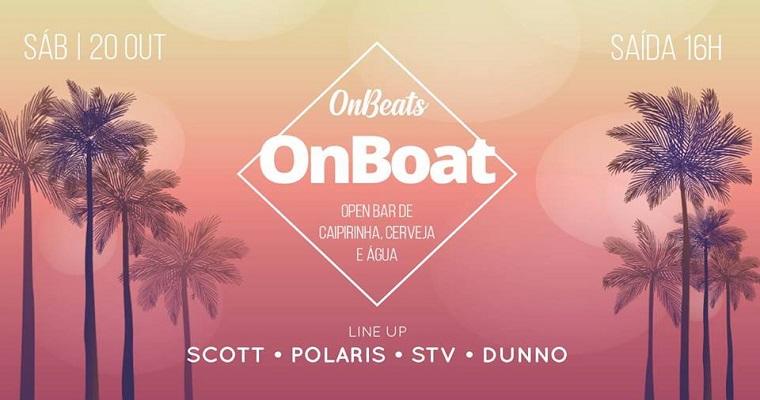 Festival OnBeats OnBoat acontece pela primeira vez em Recife