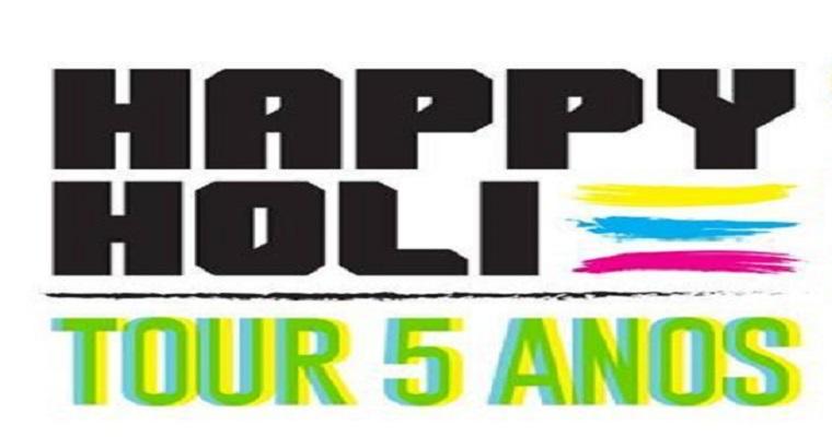 Nova edição do Happy Holi será realizada no centro de convenções