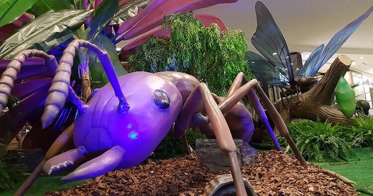 Exposição Natureza Gigante terá início amanhã no RioMar