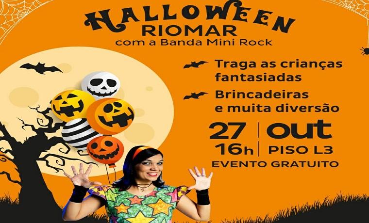 Shopping RioMar tem programação infantil para o Halloween
