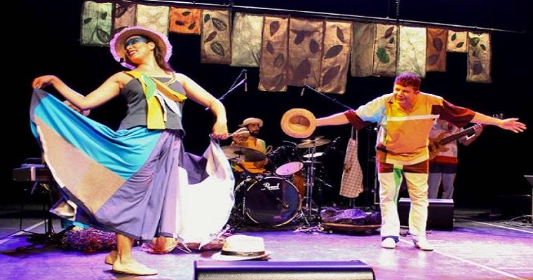 Caixa Cultural recebe o espetáculo Bichos de Cá do grupo Nhambuzim