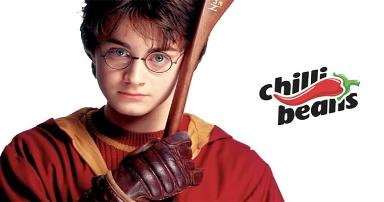 Chilli Beans lança nova coleção inspirada em Harry Potter