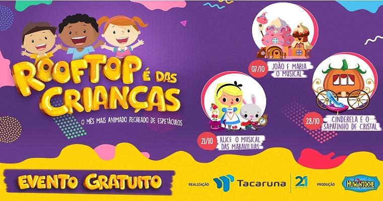 Shopping Tacaruna tem programação gratuita para o dia das crianças