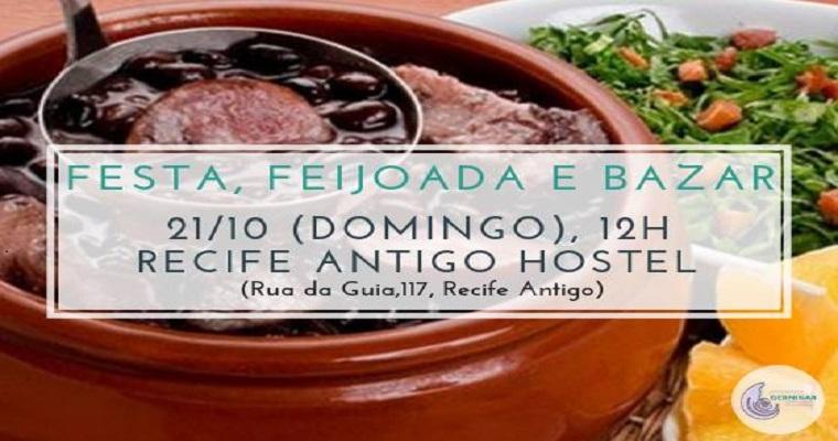 2ª  edição do 'Festa, Feijoada e Bazar' acontece no Recife Antigo