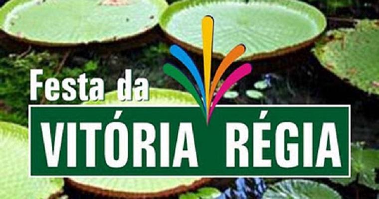 Festa da Vitória Régia será realizada de 9 a 11 de novembro
