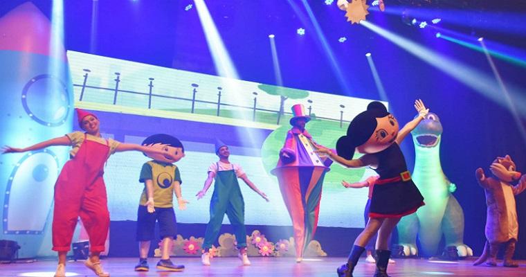 Show da Luna anima criançada neste fim de semana