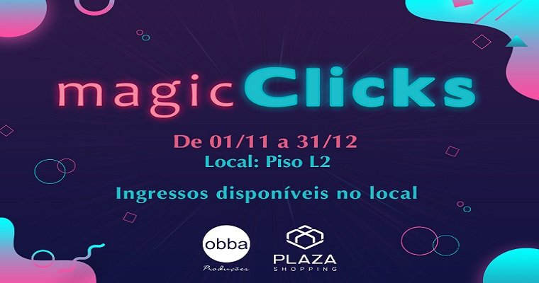 Para os amantes de fotografia: Magic Clicks no Plaza