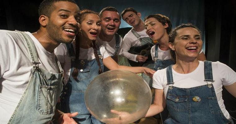 'Vento Forte para água de sabão' será apresentado no Teatro Arraial