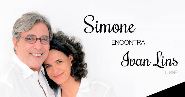 O projeto 'Simone Encontra Ivan Lins' chega ao Recife