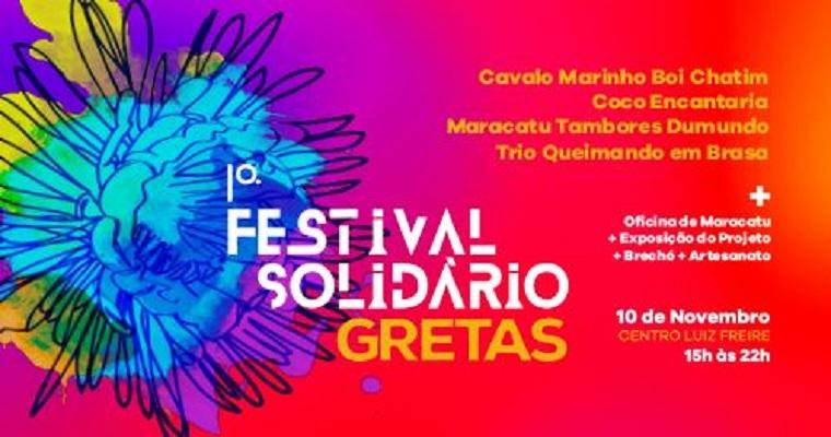 1° Festival Solidário Greta acontece neste sábado (10)