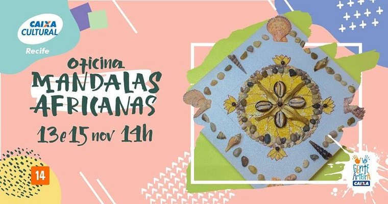 Oficina de Mandalas Africana acontece nesta quinta (15)