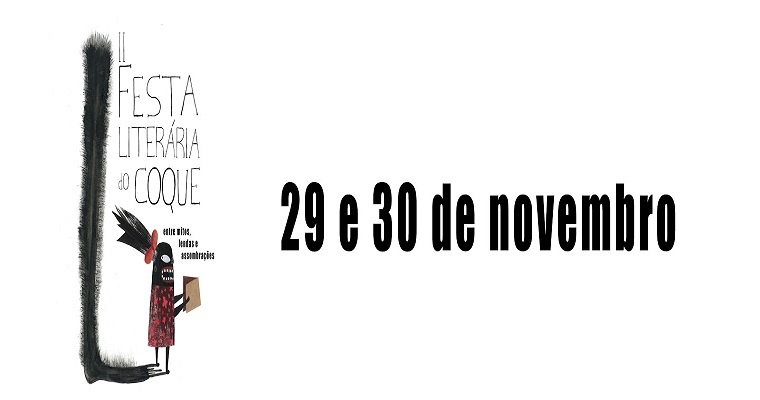 2° festa literária do Coque será realizada entre os dias 29 e 30