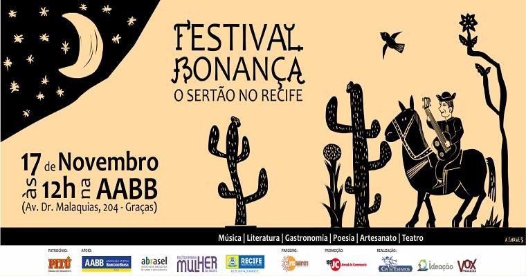 Festival Bonança será realizado dia 17 de novembro na AABB