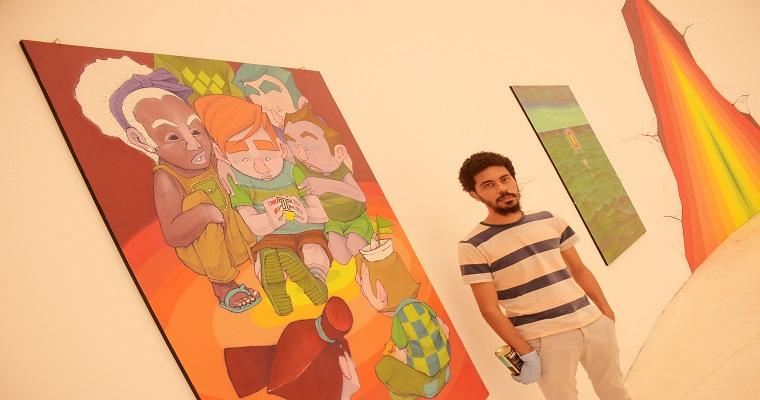 Exposição individual de Jota Zer0ff estreia na Galeria Janete Costa