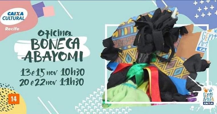 Consciência Negra: Oficina de Boneca Abayomi na Caixa Cultural