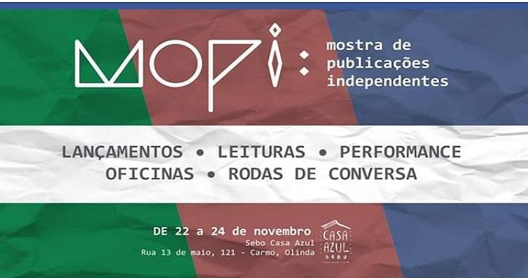 MOPI será realizada entre os dias 22 e 24 de novembro