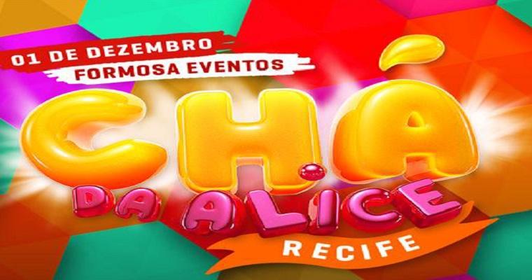 Festa Chá da Alice recebe nova edição em Recife